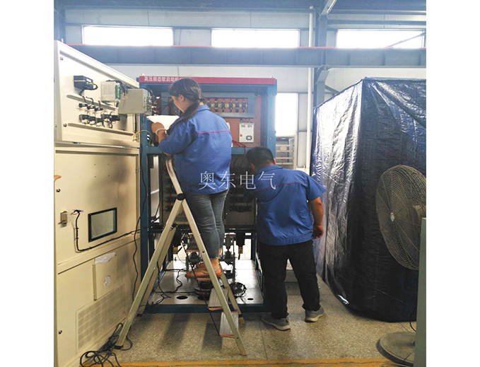 6300KW高压固态软启动柜在高炉风机中的应用 大功率电机配套软启动减小了对轴瓦的冲击