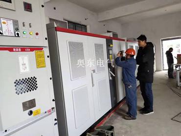 5套高压变频器在铁矿尾矿库工程上的应用  变频器配套清水泵渣浆泵调速节能降耗效果好