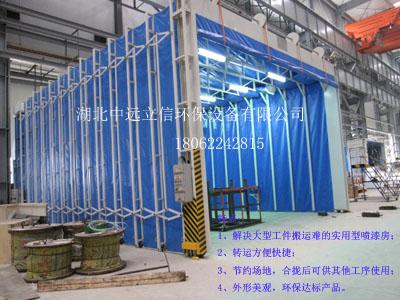 东方电气集团伸缩式喷烘漆房