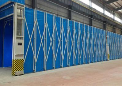 華西能源集團30m伸縮噴漆房