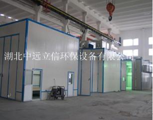 干式大型噴烘漆房